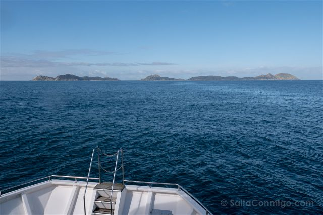 Galicia Islas Cies Barco