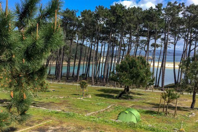 Galicia Islas Cies Camping