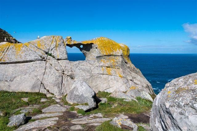 Galicia Islas Cies Pedra da Campa