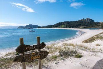 Galicia Islas Cies Praia Rodas Playa