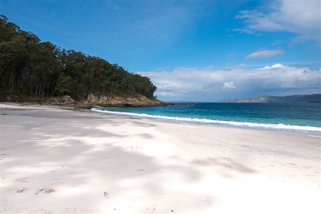 Galicia Islas Cies Praia das Figueiras