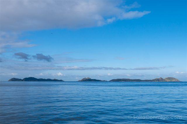 Galicia Islas Cies Todas Barco