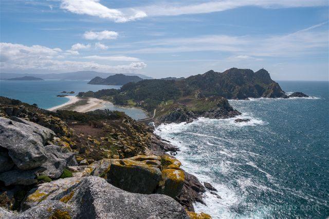 Galicia Islas Cies Vista Alto da Principe