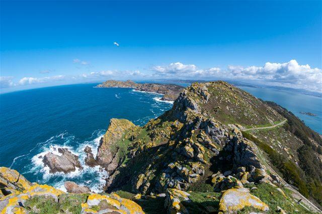 Galicia Islas Cies Vista Faro