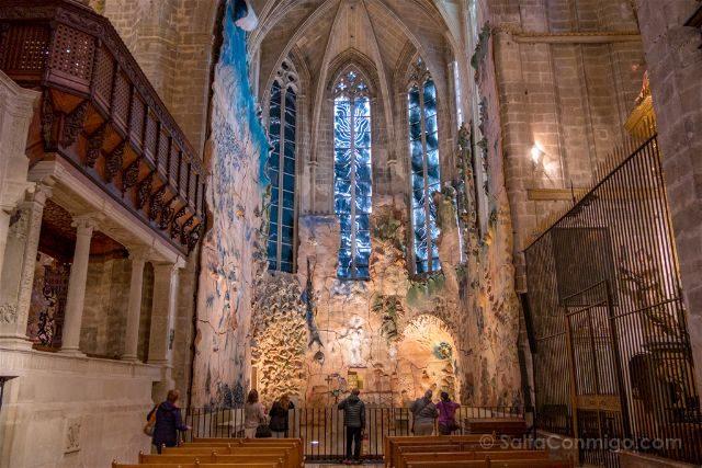 Islas Baleares Mallorca Catedral Capilla Santisimo Miquel Barcelo