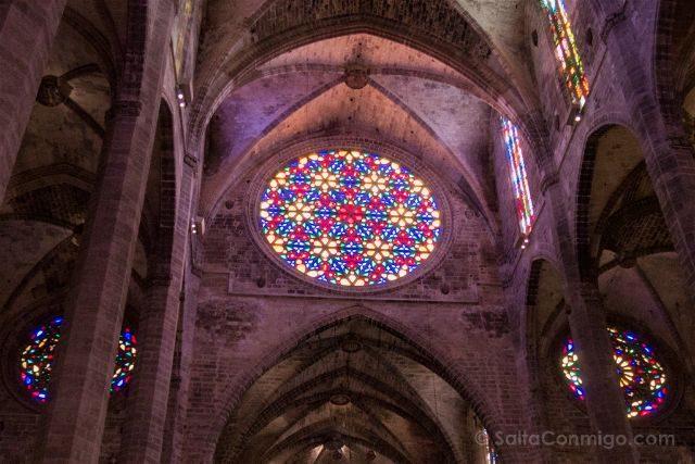 Islas Baleares Mallorca Catedral Roseton Mayor