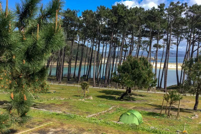 Islas Cies Galicia Camping