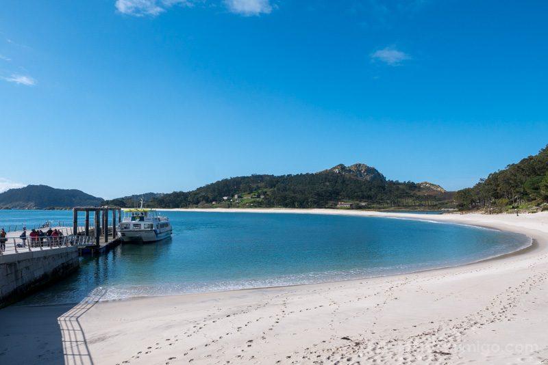 Islas Cies Galicia Embarcadero