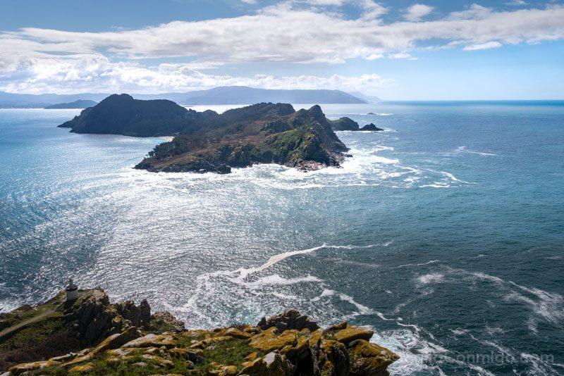 Islas Cies Galicia Isla San Martino Sur