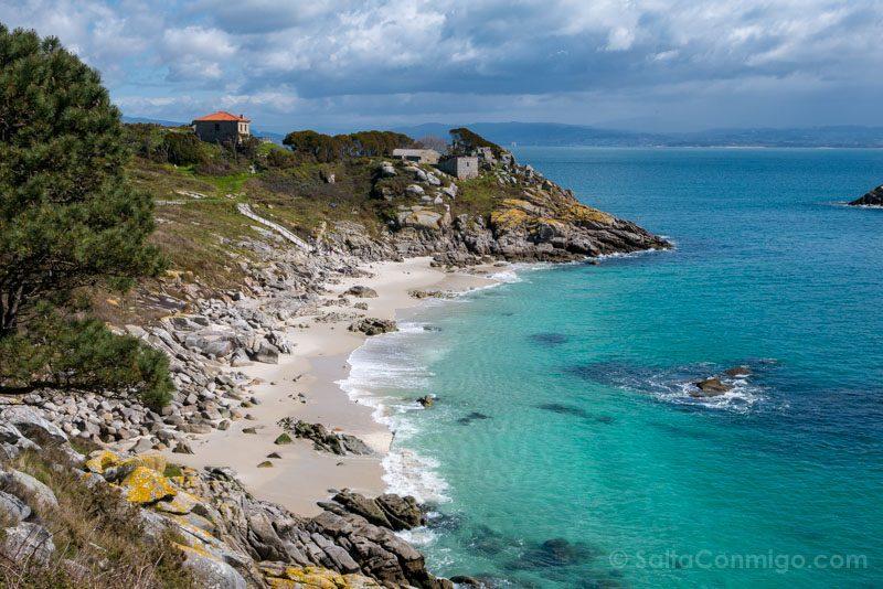 Islas Cies Galicia Praia Nossa Senora