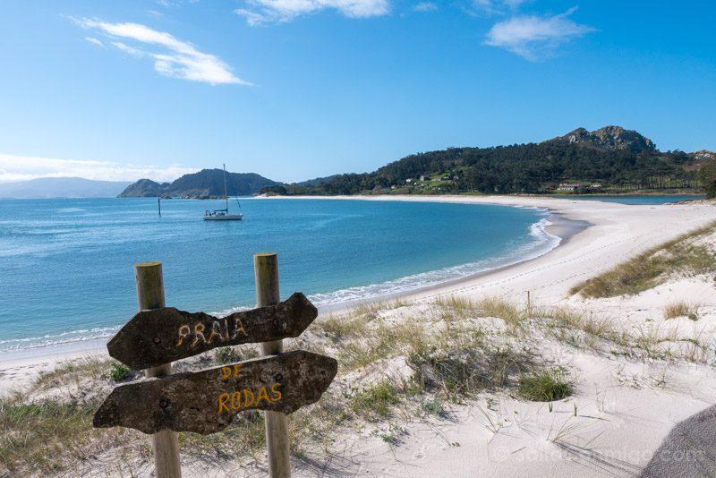 Islas Cies Galicia Praia Rodas Playa