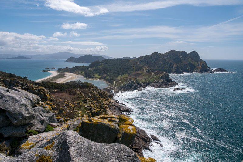 Islas Cies Galicia Vista Alto do Principe
