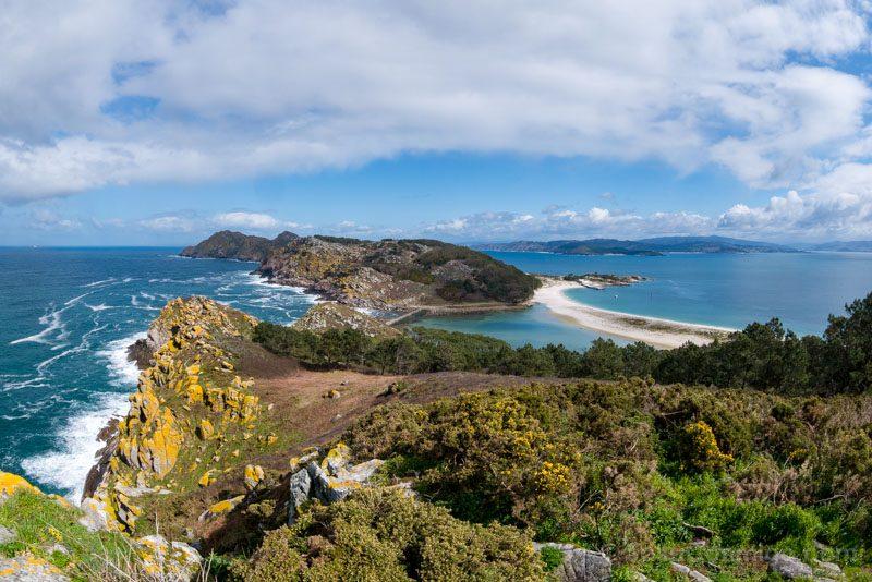 Islas-Cies-Galicia Vista Pedra da Campa Observatorio