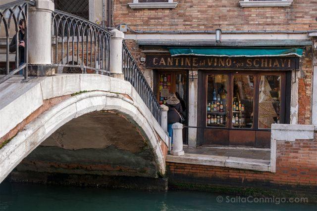 Italia Venecia Bacaro Vino Schiavi