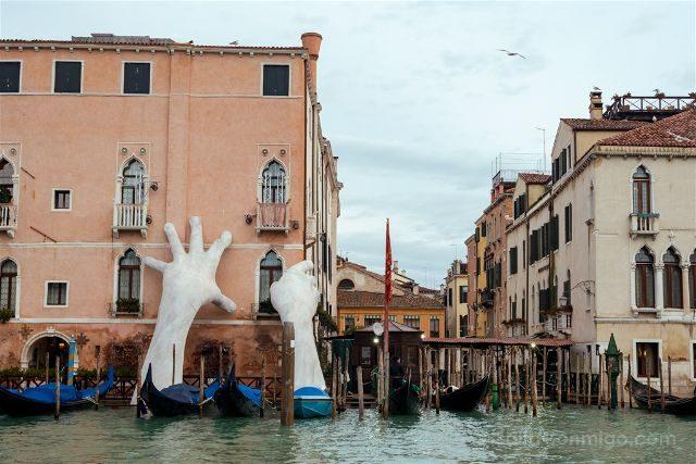 Italia Venecia Ca S agredo Manos