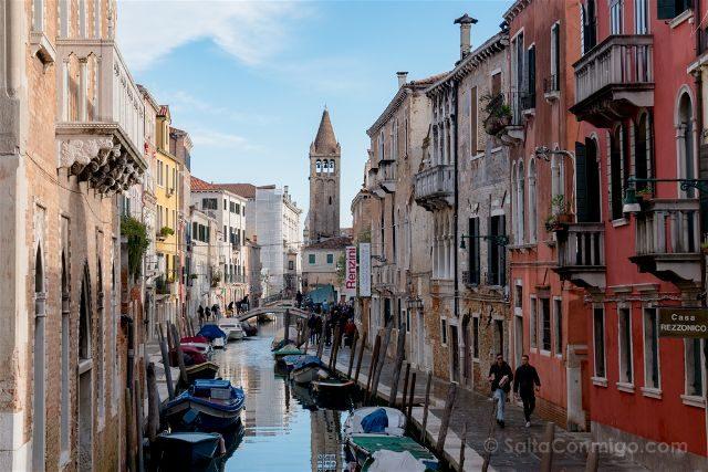 Italia Venecia Canal Locales