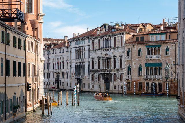 Italia Venecia Canal Water Taxi