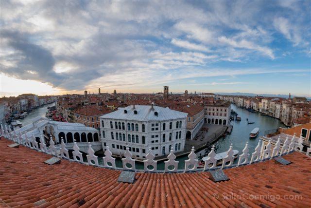 Italia Venecia Fondaco Dei Tedeschi Terraza