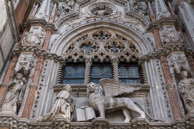 Italia Venecia Leon San Marco