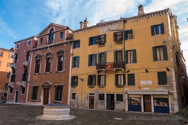 Italia Venecia Plaza Vacia