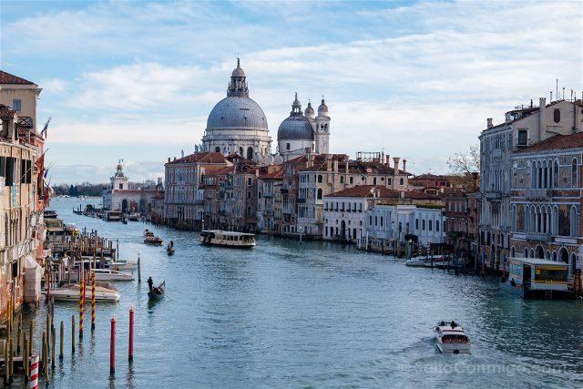 Italia Venecia Ponte Accademia
