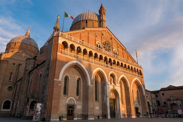 Italia Veneto Padua Basilica San Antonio Fachada