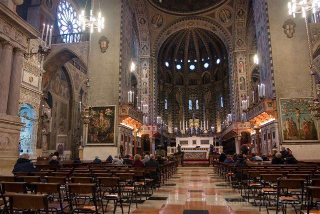 Italia Veneto Padua Basilica San Antonio Interior