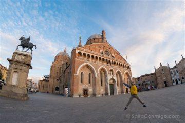 Italia Veneto Padua Basilica San Antonio Salto