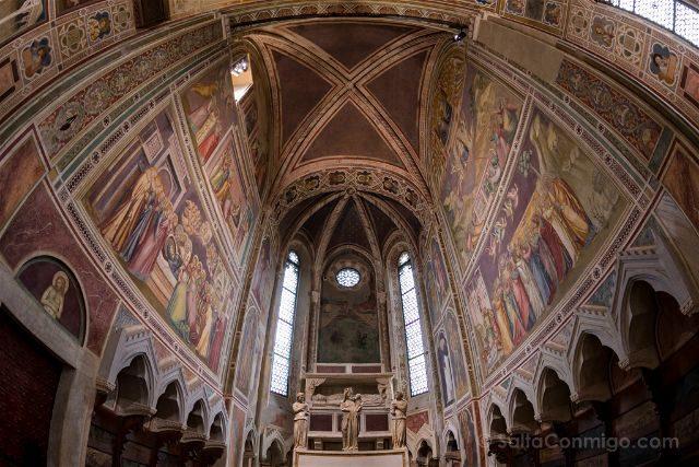 Italia Veneto Padua Giotto Cappella Scrovegni Virgen Altar
