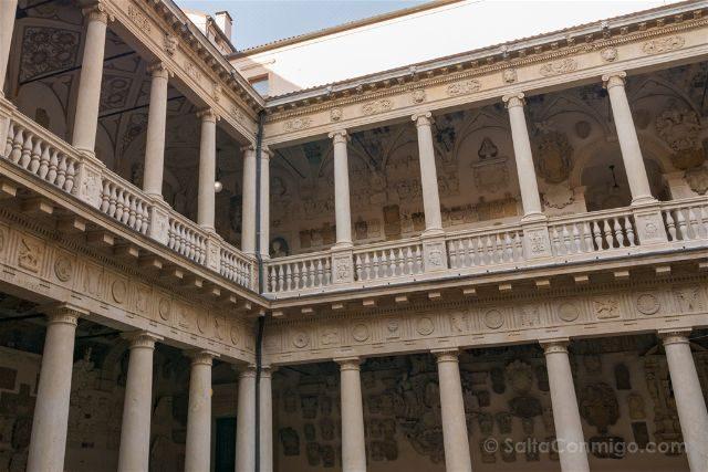 Italia Veneto Padua Universita Padova Palazzo Bo