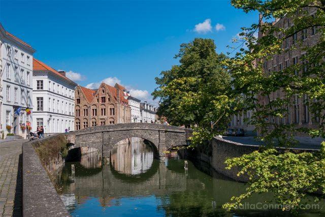 Fotos de Brujas Bélgica Augustijnenbrug