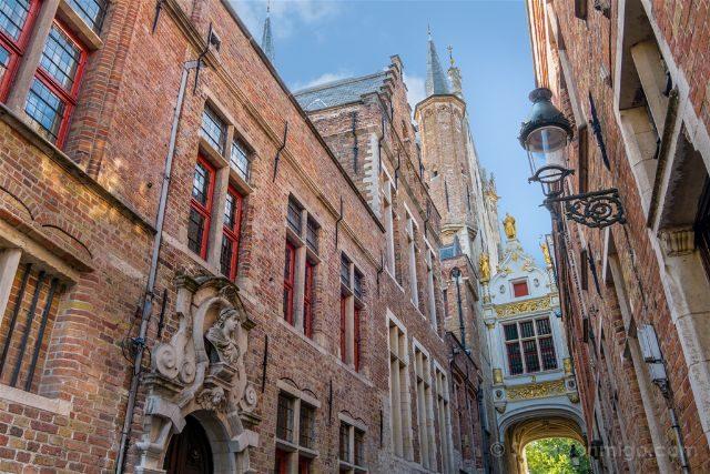 Belgica Flandes Brujas Blinde-Ezelstraat