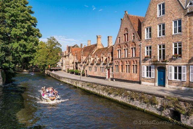 Fotos de Brujas Bélgica Puente Peerdenstraat