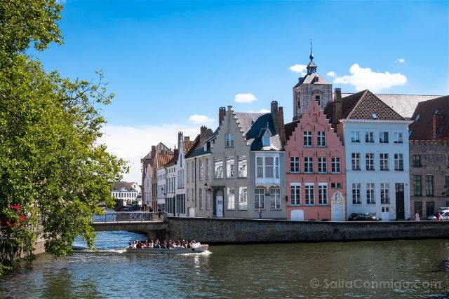 Fotos de Brujas Bélgica Sint-Annarei Puente Spinolarei
