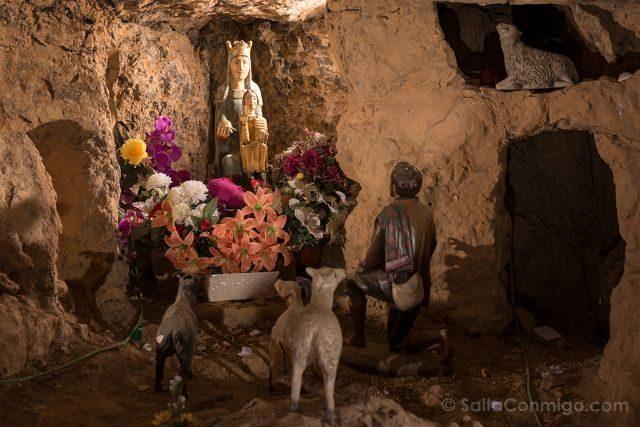 Castellon Zorita del Maestrazgo Santuario Virgen Balma Aparicion