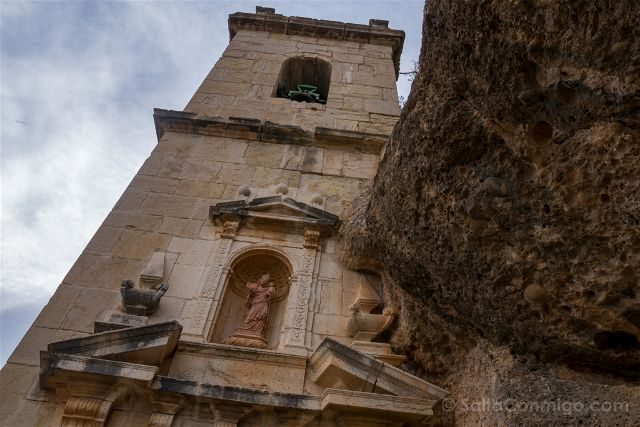 Castellon Zorita del Maestrazgo Santuario Virgen Balma Fachada
