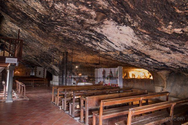 Castellon Zorita del Maestrazgo Santuario Virgen Balma Interior Reja