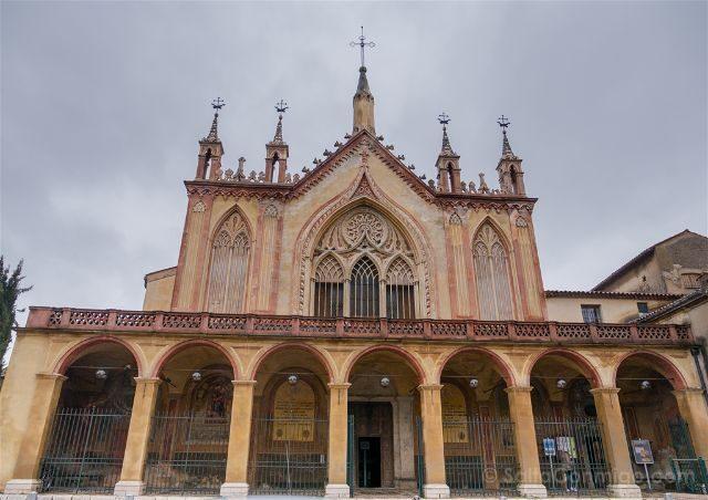Francia Niza Iglesia Nuestra Senora Asuncion Fachada