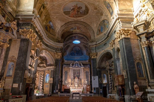 Francia Niza Iglesia San Martin San Agustin Interior