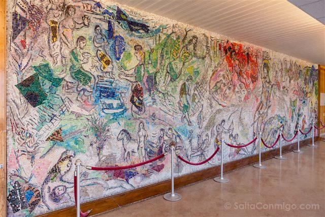 Francia Niza Mosaico Chagall Universidad Mensaje Ulises