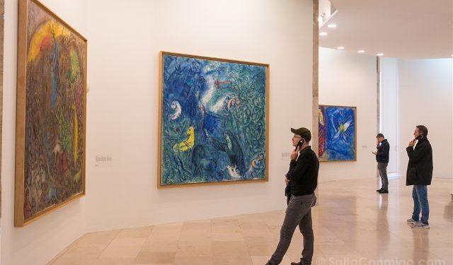 Francia Niza Museo Nacional Marc-Chagall Panorama