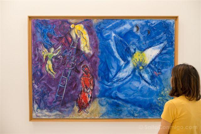 Francia Niza Museo Nacional Marc-Chagall Sara