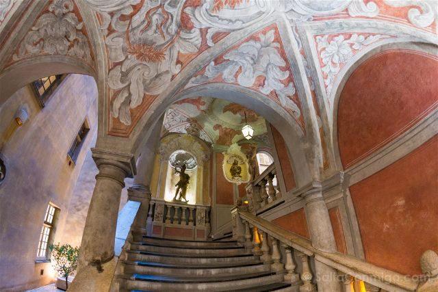 Francia Niza Palais Lascaris Escalera