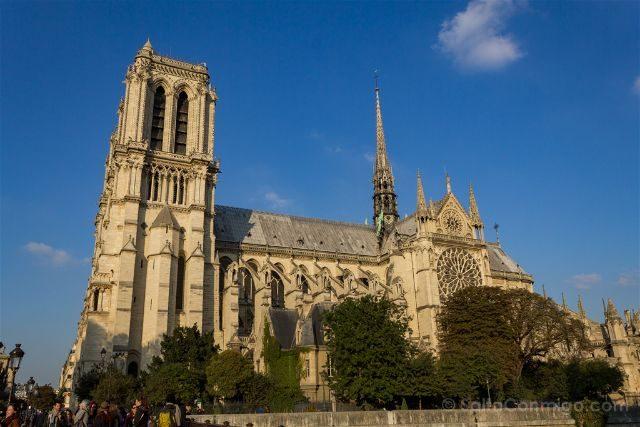 Francia Paris Notre-Dame Lateral Sur