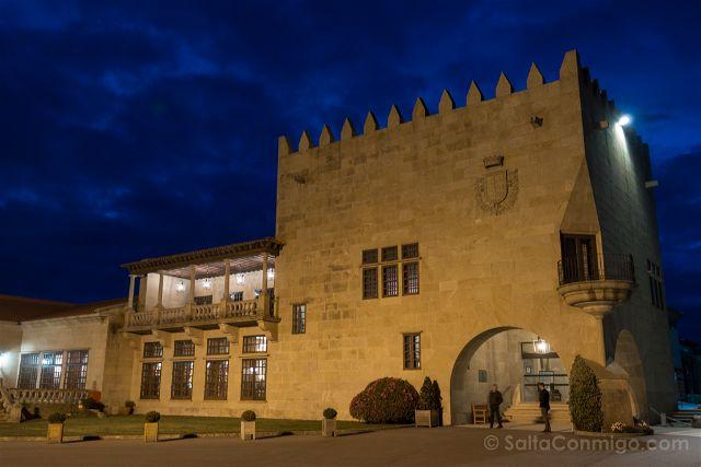 Galicia Pontevedra Rias Baixas Baiona Castillo Parador