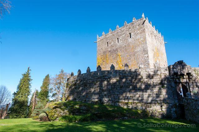 Galicia Pontevedra Rias Baixas Castillo Soutomaior