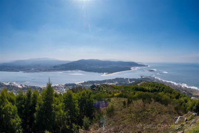 Galicia Pontevedra Rias Baixas Castro Santa Trega Desembocadura Miño