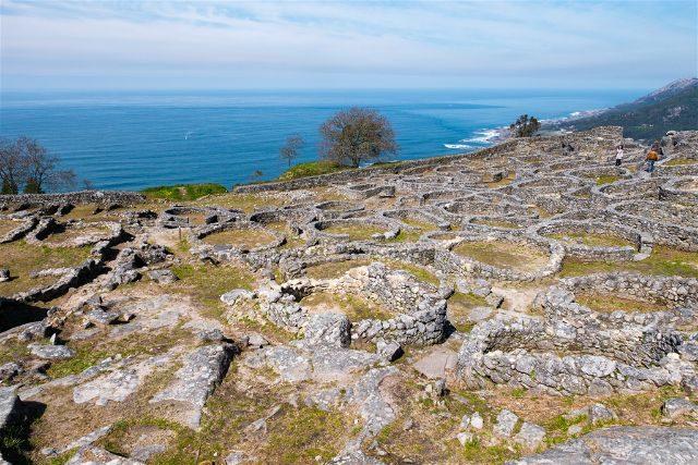 Galicia Pontevedra Rias Baixas Castro Santa Trega