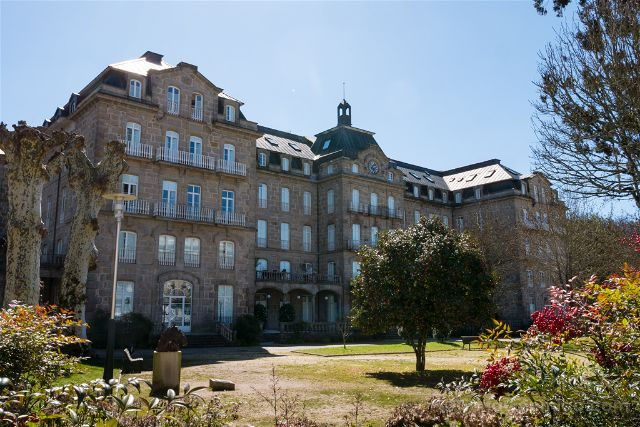 Galicia Pontevedra Rias Baixas Mondariz-Balneario Gran Hotel