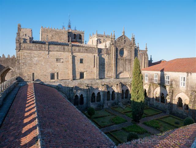 Galicia Pontevedra Rias Baixas Tui Catedral